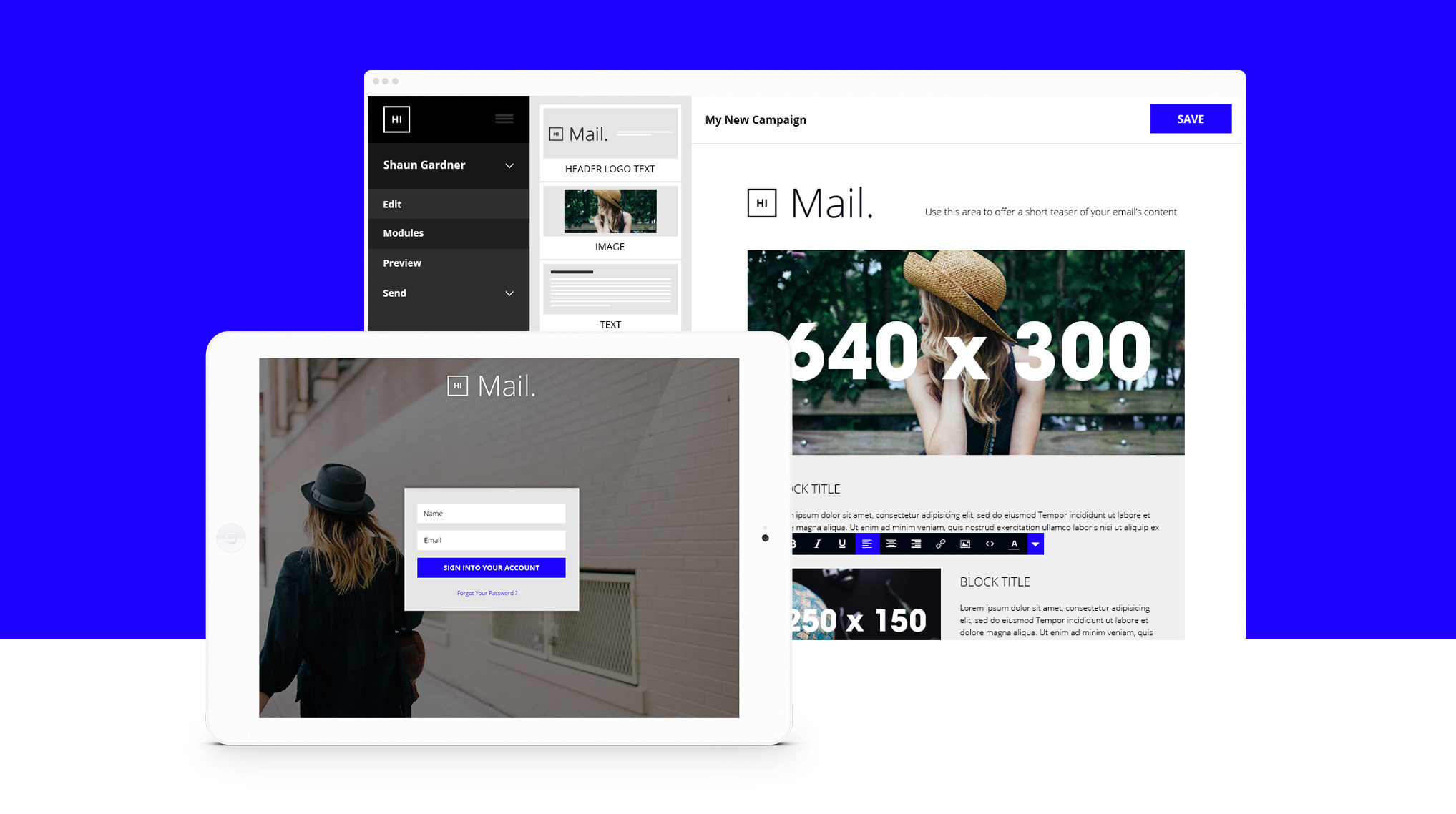 Hi Mail Device Showcase